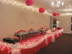 Valentine banquet decorating ideas