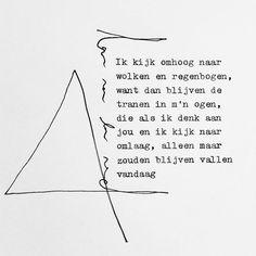 """Versje van Lars dat past bij het verhaal over de tranenfee en haar regenbogen in """"Toverdruppels"""""""