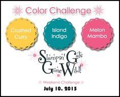 SGGW026 - July 10, 2015 (Crushed Curry, Island Indigo, Melon Mambo)