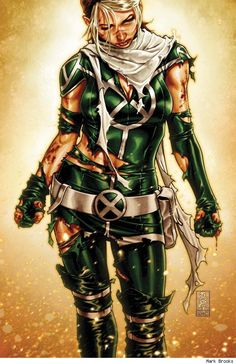 Rogue by Mark Brooks. Inspiration for my Rockabilly Rogue halloween costume.