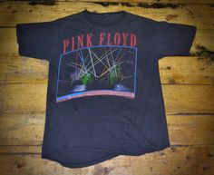 1987 Pink Floyd A Monetary Lapse Of Reason Tour Tee T-Shirt