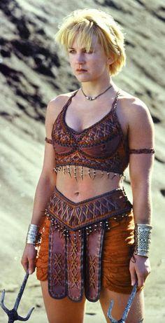 Renee O'Connor as Gabrielle in Xena the Warrior Princess