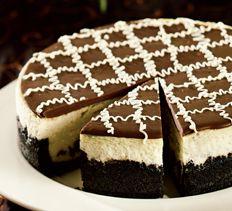 Brownie Chunk Cheesecake