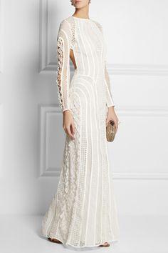 Zimmermann | Good Love crocheted lace maxi dress | NET-A-PORTER.COM