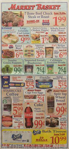 Market Basket Flyer November 27 - December 3, 2016 - http://www.olcatalog.com/grocery/market-basket-flyer.html