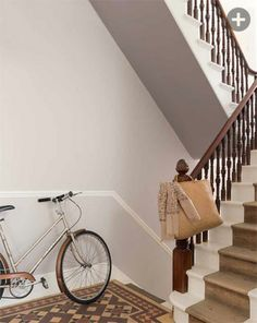 Great deals on paint & decorating ✓ Create your dream home with our collection of paints, wallpapers and decorating tools 🏠 Hallway Wall Colors, Tiled Hallway, Bedroom Wall Colors, Paint Colors For Living Room, Dulux Grey Paint, Grey Paint Colors, Dulux Polished Pebble, Hall Colour, Palette