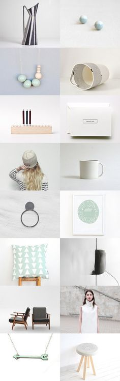 soft tones by Barbara on Etsy--Pinned with TreasuryPin.com Floating Nightstand, Gift Guide, Place Card Holders, Artist, Gifts, Etsy, Home Decor, Entryway, Floating Headboard