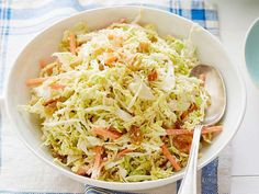 Get Geoffrey Zakarian's Gingered Coleslaw with Golden Raisins Recipe from Food Network