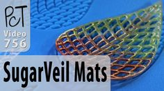 Making Polymer Clay Lace with SugarVeil Silicon Mats - YouTube