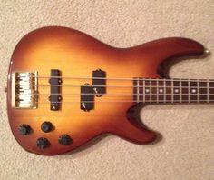 Fender Precision Lyte Bass Guitar With Original Fender Hard Shell Case