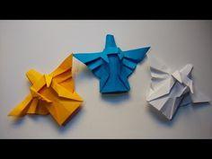 Como hacer un angel de papel navideño - YouTube