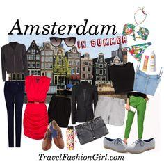 travel packing list amsterdam