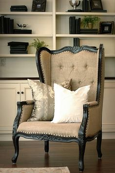 Refresh & Renew: Wingback Upholstered Chair-rescue