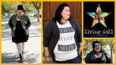 Early Fall Outfits with Living Doll LA | Plus Size Fashion Lookbook