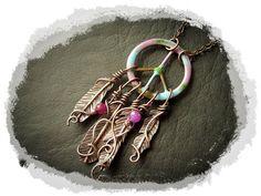 Necklace Pendant  Enameled Maple Leaf