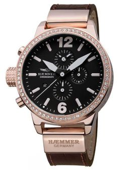 Haemmer Germany, DHC-07 Bella, Big Face watch, Oversized watches   EVOSY   The Premier Destination for Watches and Accessories