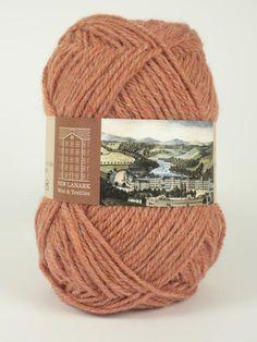 Clementine Aran Wool #knitting #knit #wool #handknitting #newlanark #scotland #scottish #aran #100%wool #purewool