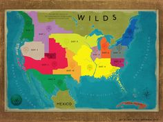 Map of the districts, I'm from District 11>>>OMG OMG OMG OMG! DISTRICT 4