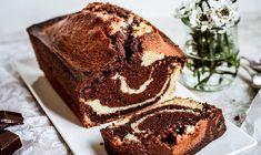 Κέικ μαρμπρέ: Η κλασική γαλλική συνταγή Tasty Vegetarian Recipes, Delicious Cake Recipes, Food 52, Vanilla, Chocolate, Desserts, Childhood, French, Cooking Ideas