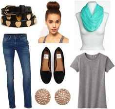 Style remix: t-shirts and skinnies