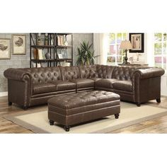 Darby Home Co Bartolome Armless Sectional Chair