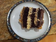 The inspiration for this cake recipe comes from a similar item that I had in Starbucks in Singapore a few years ago. The Starbucks version was yummy but also sickly sweet, and I was reminded of it … Chocolate Treats, Chocolate Peanuts, Butter Pecan, Peanut Butter, Pineapple Angel Food, How To Stack Cakes, Brownie Cake, Brownies, Sheet Cake Recipes