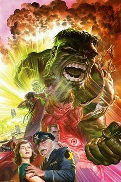 The Hulk by Alex Ross
