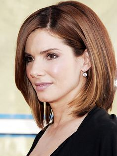 Ck this one out Tabitha lots of cut cuts curly hair!!! Medium Length Celebrity Hairstyles – Sandra Bullock - Woman's Day