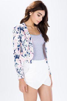 Блейзер Размеры: L Цвет: фуксия/розовый с принтом Цена: 1642 руб.     #одежда #женщинам #блейзеры #коопт