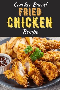 Cracker Barrel's Fried Chicken has the perfect crunchy skin and juicy interior, and we've figured out their secret recipe! For the best fried chicken, read on.