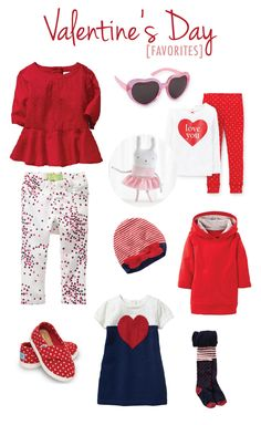 Valentine's day outfits for toddlers/babies