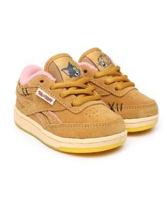 Find Tom & Jerry Club C Revenge Sneakers Girls Footwear from Reebok & more at DrJays. Sweater Boots, Sweater Hoodie, Kid Shoes, Girls Shoes, Girls Footwear, Pink Dolphin, Diamond Supply Co, Famous Stars, Dad Hats