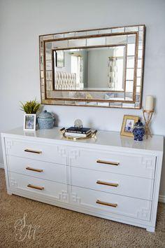 @Sita Montgomery featured our York Dresser in her stunning bedroom remodel.