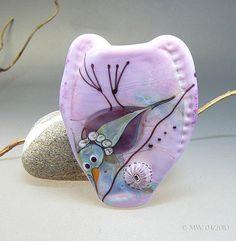 Etsy Transaction - SweetHeart - Lampwork Handmade Focal Bird Bead
