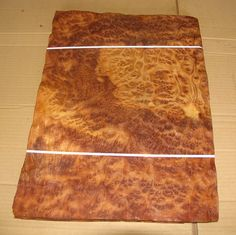 Camphor Burl veneer- perfect for any small project-  gorgeous color and burl!