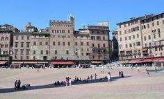 Piazza del Campo in Siena Siena, Street View, Italy, Tuscany, Travel Advice