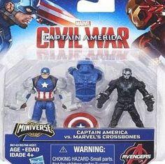 Marvel Captain America: Civil War Team Vs Team 2.5inch Figures - Captain America