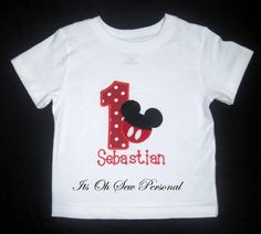 color blanco brillante o rosa dise/ño de Minnie Mouse Disney Camiseta de manga corta para ni/ña ni/ña tercer cumplea/ños 3 a/ños algod/ón beb/é