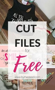 Welcome to my library of free cut files! Feel free to download and use as many as you wish! Just click the file you want to download and it will download the zip folder for you. In case you run in… by etta