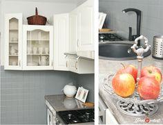 metamorfoza kuchni v33 Sink, Kitchen Cabinets, Home Decor, Sink Tops, Restaining Kitchen Cabinets, Homemade Home Decor, Vessel Sink, Vanity Basin, Kitchen Base Cabinets