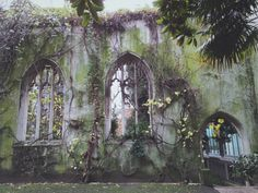 St. Dunstan-in-the-East Church, London, England, UK