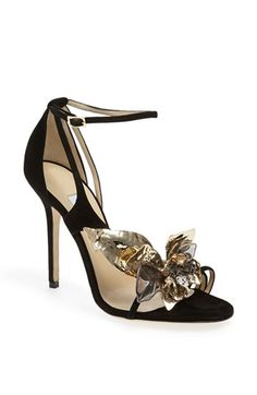 Jimmy Choo 'Mantle' Suede Sandal I just died and went to shoe heaven!!!!