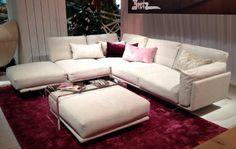 """Sofa """"Kauai"""" von Bretz. imm Cologne. Image Schoener Wohnen."""