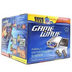 Game Wave Z800T DVD Player & Family Entertainment Gaming System w/Wireless Remotes & Trivia Game!