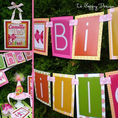 Girly Fish Birthday Party Ideas