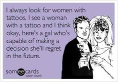 Image result for funny tattoo quotes
