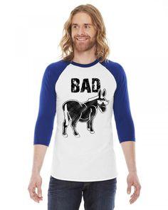bad donkey b 3/4 Sleeve Shirt