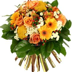 Hot oranges bouquet of flowers in Romania Rose Orange, Orange Flowers, Online Flower Shop, Types Of Flowers, Rose Bouquet, Warm Colors, Floral Wreath, Bloom, Wreaths