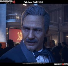 ArtStation - Uncharted 4 - Victor Sullivan, Frank Tzeng