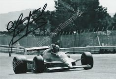 Piercarlo Ghinzani. Autographed Photo.  Is a former racing driver from Italy. He currently manages his own racing team, Team Ghinzani, which was created in 1992 and is currently involved in several Formula Three championships.  Price $15